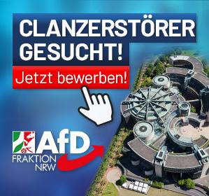 AfD Fraktion NRW Stellenausschreibung Inneres